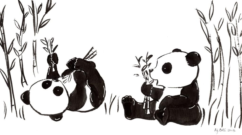 панда и заяц вместе картинки сочетании
