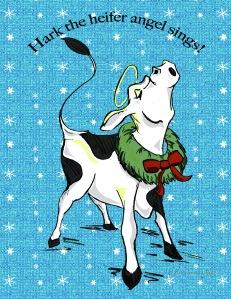 Postcard Front heifer