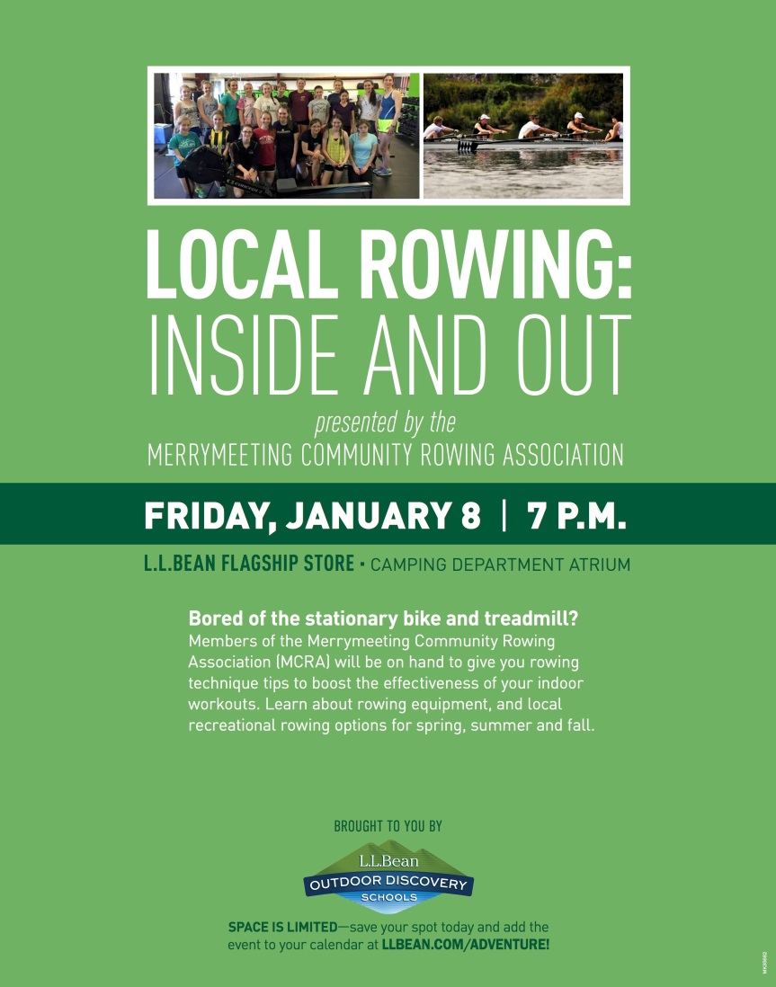 Rowing Poster